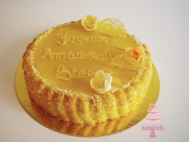 entremets charlotte exotique Carole cake design