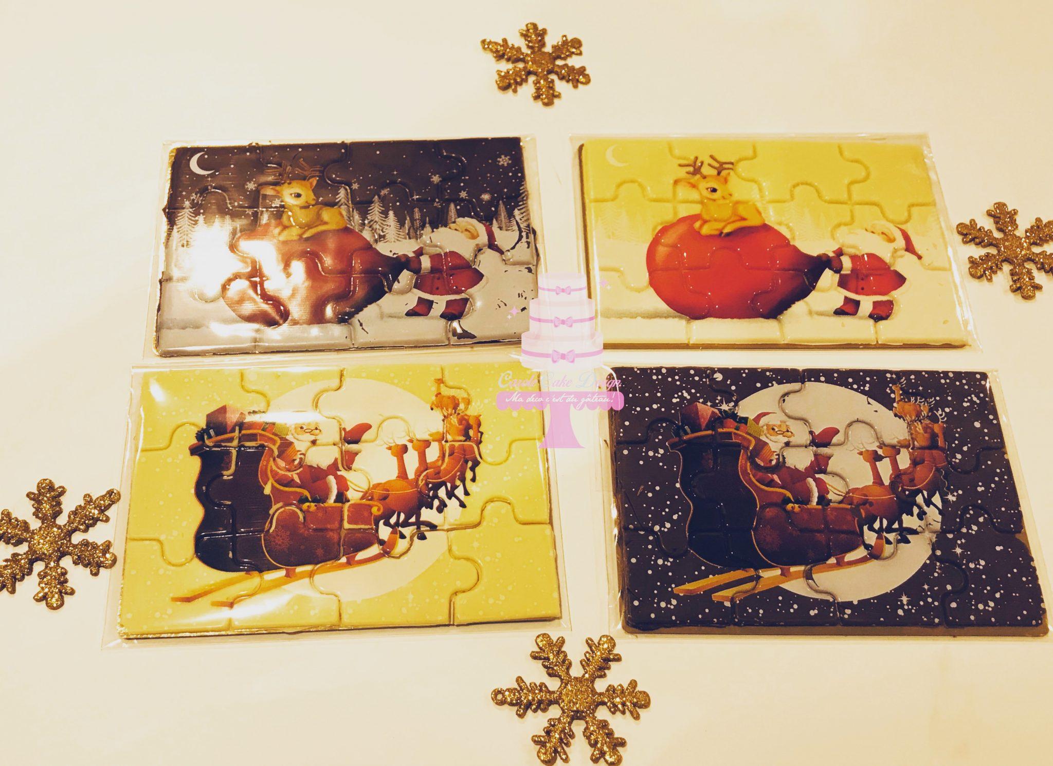 Puzzle au chocolat Image