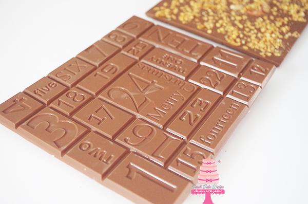 Tablette De L Avent Carole Cake Design